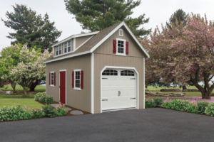 12x24 Two Story w Full Size Shed Dormer