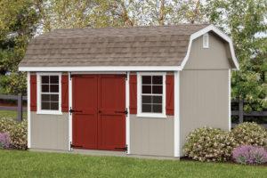 10 ft x 14 ft dutch storage barn