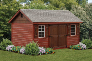 10 ft x 16 ft classic shed
