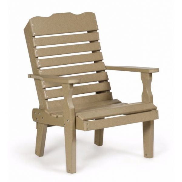 300 single curve back chair