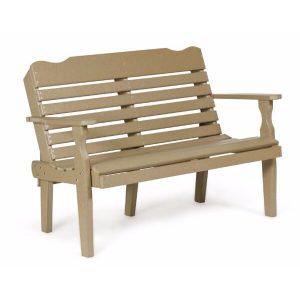 4 foot horizontal park bench