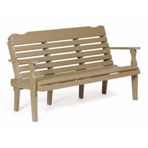 5 foot horizontal park bench