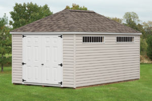 Hip Roof Shed 10x16