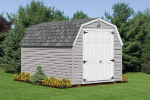 8 ft x 12 ft mini barn